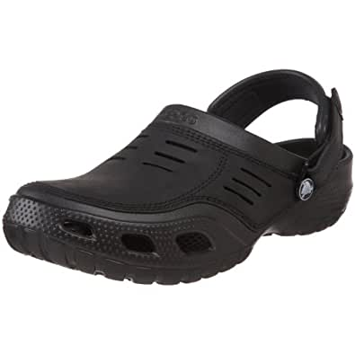 Crocs Yukon Sport, Men's Clogs, Black (Black/Black), 6 UK, 39/40 EU