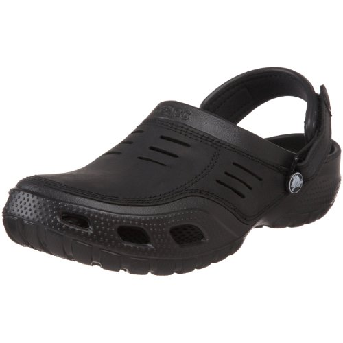 Crocs Men's Yukon Sport Backstrap Sandal Black/Black 10931-060-720 12 UK
