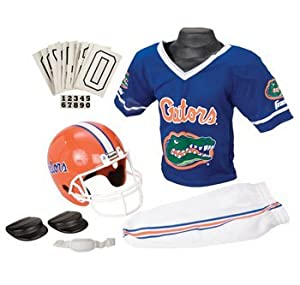 Buy Florida Gators UF NCAA Football Deluxe Uniform Set Size Small by Unknown