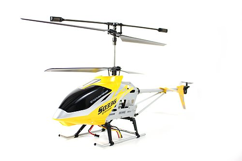41iliQ3p41L Buy  Syma S033G 3.5 Channel 700mm Large RC Helicopter Ready to Fly. Colors May Vary in Yellow or Red.
