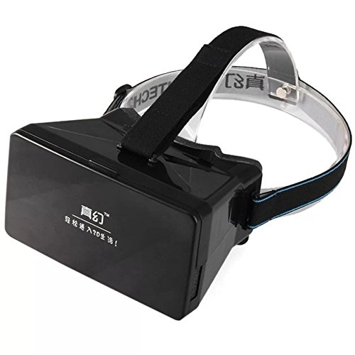 Eyeboot Virtual Reality 3D VR Goggles Head Mounted Headset Private Theater for 3.5 - 5.6 inches Smartphone