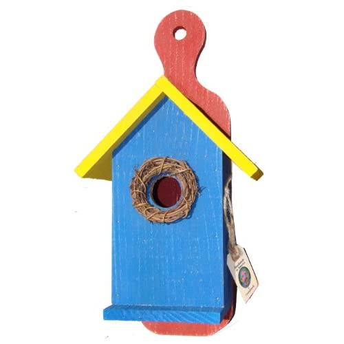 ... , Red Hanging Birdhouse R-101 : Bird Houses : Patio, Lawn & Garden: amazon.com/funky-randy-birdhouse-18-antique/dp/images/b005mkb7au