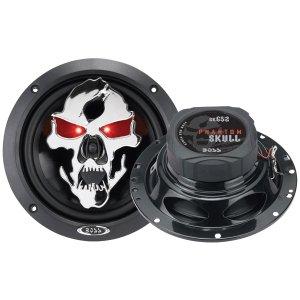 Boss Car Audio Video Phantom Skull 61 2 2Way Speakers Iluminated Eyes 300 Watt Pmpo
