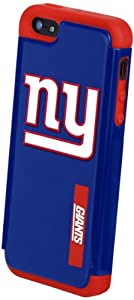 Forever Collectibles New York Giants Rugged Dual Hybrid Apple iPhone 5 & 5S Case by Forever Collectibles