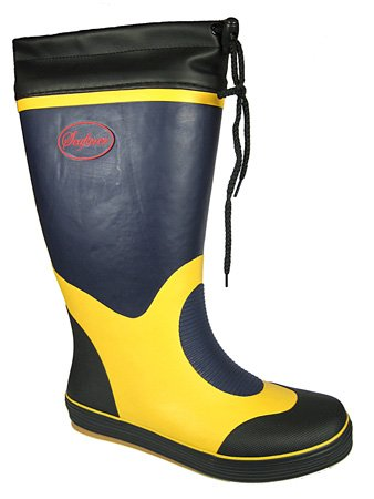 Mens Boys Seafarer boat yacht Wellies M135 Yellow-Grey UK8