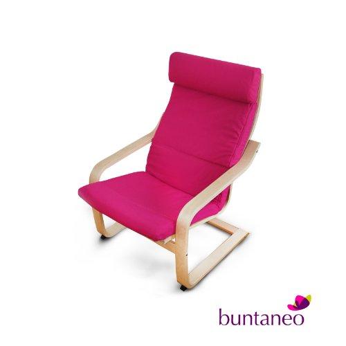 buntaneo-Bezug-passend-fr-IKEA-Pong-Sessel-Very-Berry-Pink-weitere-Farben-verfgbar