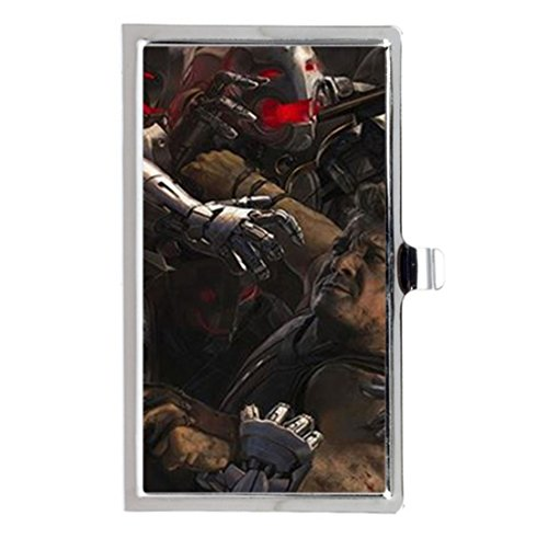 Avengers- Age of Ultron Custom Design Unique Business Card Holder Name Case Stainless Box Case