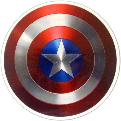 Marvel(マーベル) Captain America(キャプテン・アメリカ) ダイカットステッカー (A)
