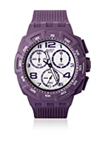 Swatch Reloj de cuarzo Unisex PURPLE FUNK SUIV400 42.5 mm