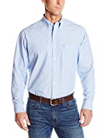 IZOD Men's Big-Tall Long-Sleeve Solid Essential Woven Shirt