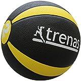TRENAS - médecine-ball en caoutchouc PRO - 1 kg - 1,5 kg - 2 kg - 3 kg - 4 kg - 5 kg