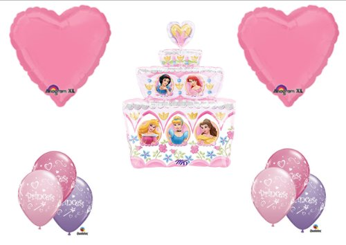 Disney Princess Birthday Cake Party Balloons Decorations Supplies