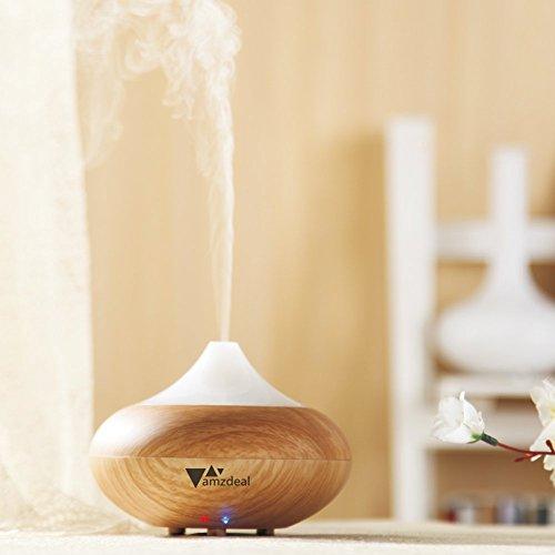 Aukey® amzdeal Humidificador ultrasónico / Aroma Difusor Difusor de aceite / Humidificador / aroma difusor de la UE