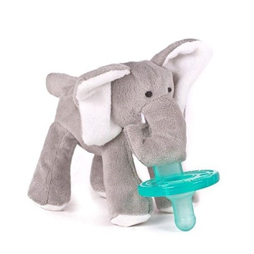 [Infant Baby Soothie PACIFIER - Elephant] (Nibbler Infant Costume)