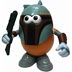 Star Wars Mr. Potato Head - Spudda Fett (Boba Fett)