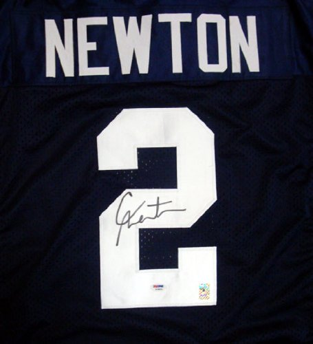 Cam Newton Autographed Auburn Jersey PSA/DNA RookieGraph at Amazon.com