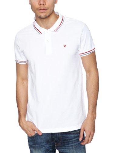 Replay M3045 Men's Polo Shirt Optical White Small