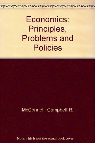 Economics: Principles, Problems and Policies PDF
