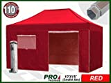 Eurmax Professional 4.5 x 3 Pop Up Gazebo Heavy Dut