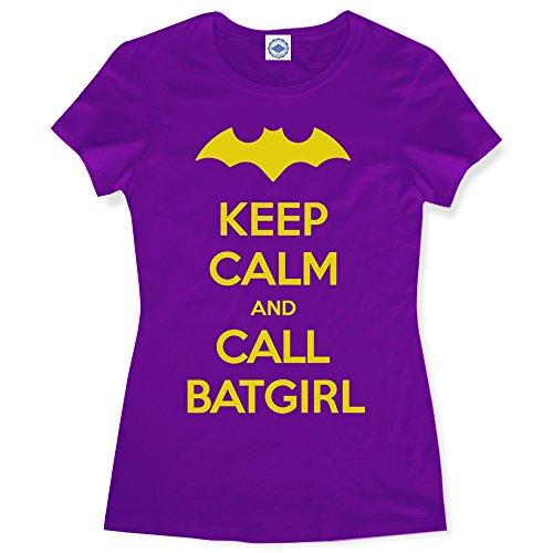 Hank Player 'Keep Calm & Call Batgirl' Women's T-Shirt