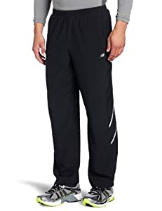 New Balance Men's Sequence Pant (Black, Large)