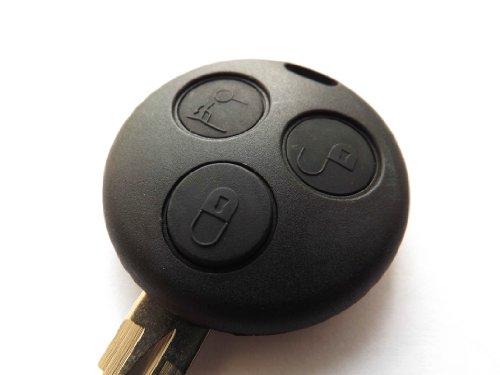 Smart Schlüsselanhänger mit Fernbedienung mit 3 Tasten, mit blanko, Hartschale