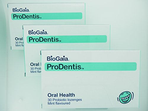 バイオガイア プロデンティス 生きる乳酸菌 ミント味 30粒x3個