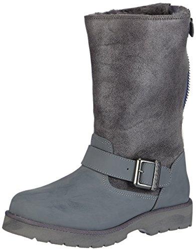 Buffalo 12844 ACTION NUBUCK HEDOSA, Stivali da neve, con caldo rivestimento interno Donna, Grigio (Grau (GREY299)), 39 (6.5 uk)