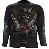 Steam Punk Bandit   XLarge   T Shirt Long Sleeves Spiral steampunk