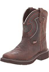 Justin Women's Cowhide Gypsy Boot Square Toe
