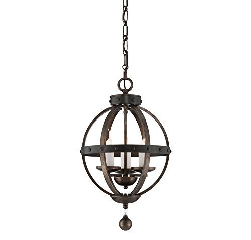Savoy House 7-9541-3-196, Alsace 3 Light Pendant, Reclaimed Wood by Savoy House (Savoy House Alsace compare prices)