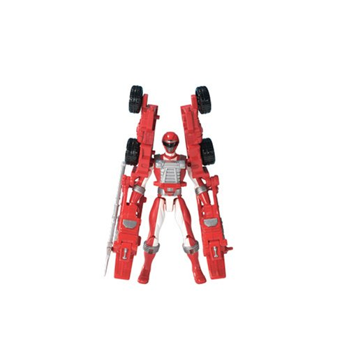 Power Ranger Operation Overdrive - Red Battlized Power Ranger - 1