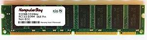 KOMPUTERBAY 512MB SDRAM DIMM (168 Pin) 133Mhz PC133 168 pin 3.3v NON ECC DESKTOP MEMORY - 100% Compatible
