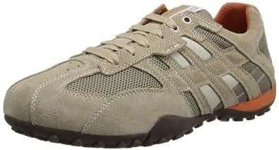 Geox U Snake K, Sneakers Basses homme, Beige (C0845), 39 EU