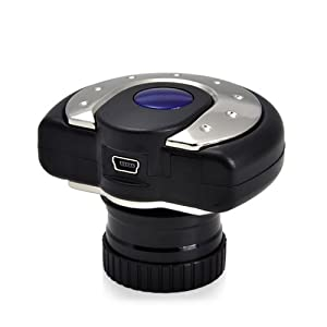 Handy Digital Eyepiece for Telescope - View and Record to Computer - 1280x1040 video or photos