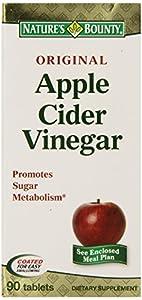 Nature's Bounty Apple Cider Vinegar Diet, 90 Tablets