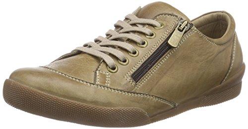 Andrea Conti 0590452, Low-Top Sneaker donna, Verde (Grün (199)), 38