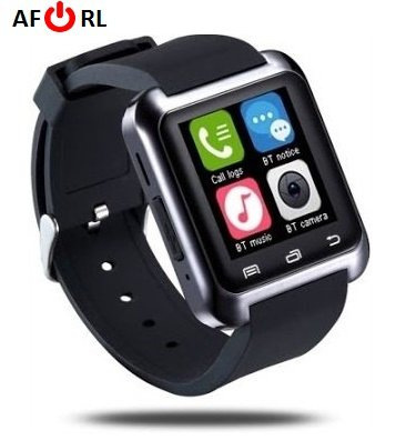 Amazingforless Black Bluetooth Touch Screen Smart Wrist Watch (Lg Touch Screen Monitor compare prices)