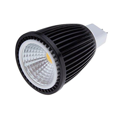 Sunsbell®Cob Led Mr16 12V 7W Lamp Bulb Led Spotlight Replacement For Standard Household Base 50W Incandescent Light Bulb Warm White