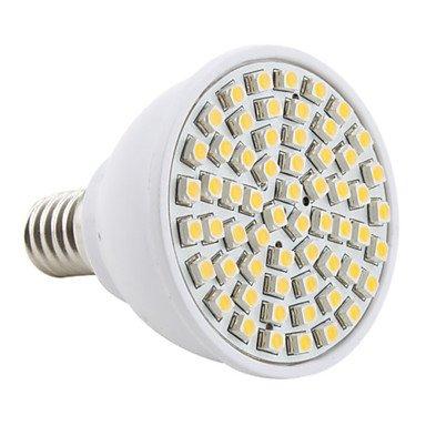 E14 Patch 60-3528 Led 2800-3200 - K 3200 Lm 230 V Warm White Bulbs