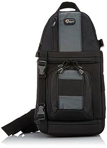 Lowepro SlingShot 102 AW SLR-Kamerarucksack (für SLR bis Nikon D90 oder Canon D5 mit Standardobjektiv) schwarz