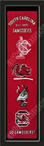 Heritage Banner Of South Carolina Gamecocks-Framed Awesome & Beautiful-Must For A... by Art and More, Davenport, IA