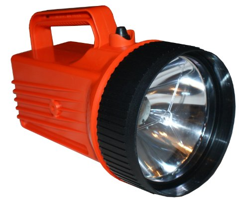 Bright Star 2206LED WorkSAFE 4-D Cell LED Intrinsic Flashlight, 90 Lumens, 150 Hours Run Time