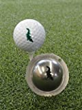 Tin Cup Golf Ball Marking system Gator Design inc Pouch