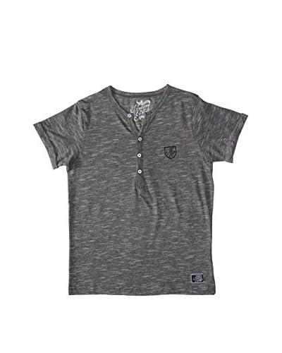 American People T-Shirt Manica Corta Dex [Blu]