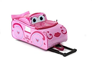 Princess 3d Kids Wheeled Case By Higgledy Piggledy from Higgledy Piggledy