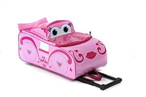 Princess 3d Kids Wheeled Case By Higgledy Piggledy from Higgledy Piggledy