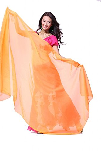 ZLTdream Women's Belly Dance Chiffon Scarf
