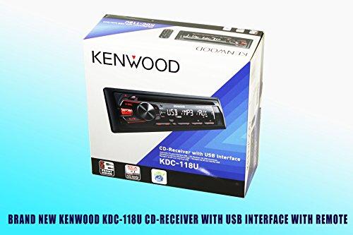 Package! Kenwood Kdc-118U Cd-Receiver + Kfc-1695Ps Speakers + Kfc-6965Ps Speakers