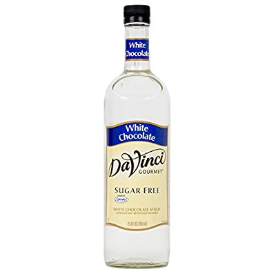 Da Vinci Sugar Free White Chocolate Syrup 25.4oz by Da Vinci